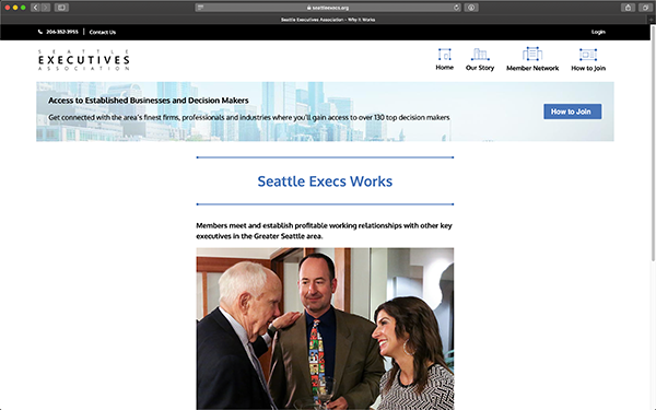 New Seattle Execs Member Page