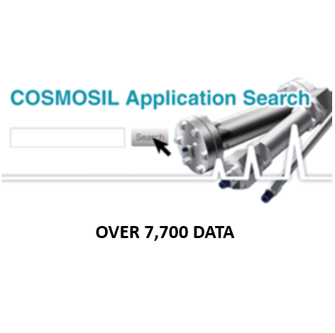 COSMOSIL Application Search:...