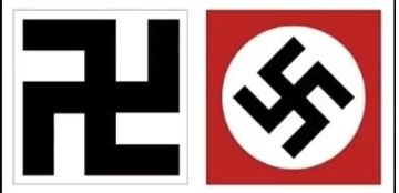 One on the left is a symbol fo...