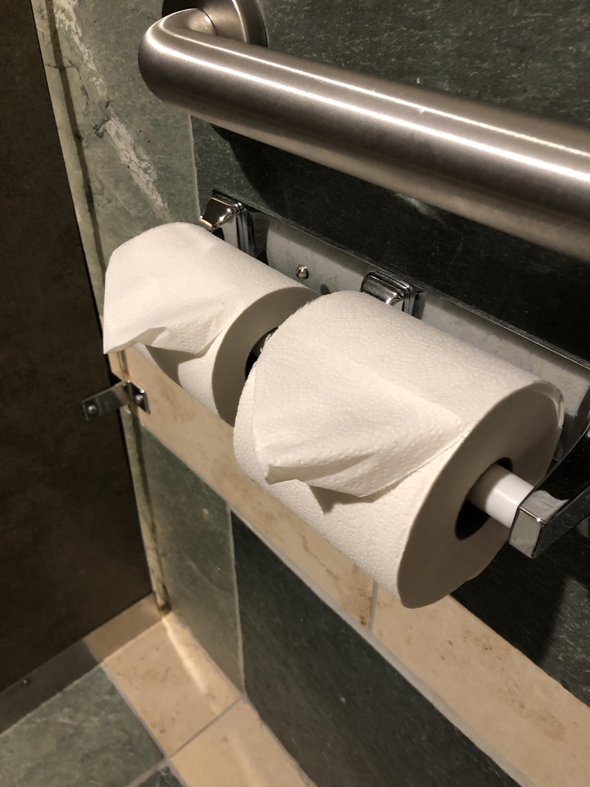 Hotel Toilet Paper Folding