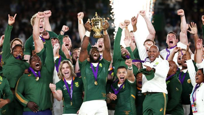 Congratulations to South Africa
