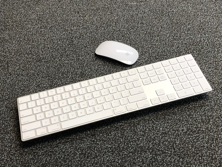Apple's Magic keyboard and ...